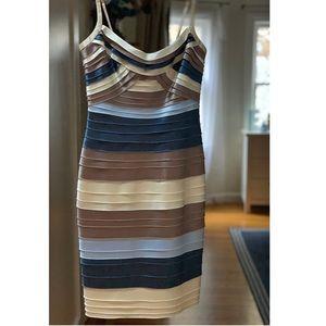 BCBGMAXAZRIA Tier Dress